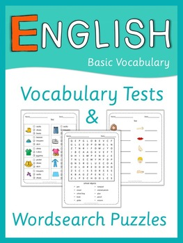 ESL Vocabulary Tests and Wordsearch Puzzles   Basic Vocabulary