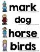 English Fry (sight) Words 301-400 Word Wall