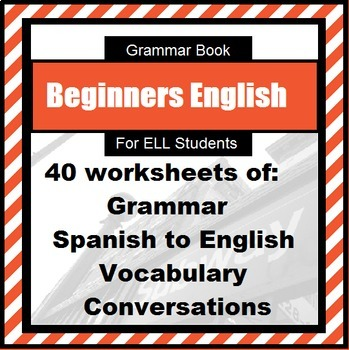 English Grammar Book for ESL learner level 1: Spanish tran