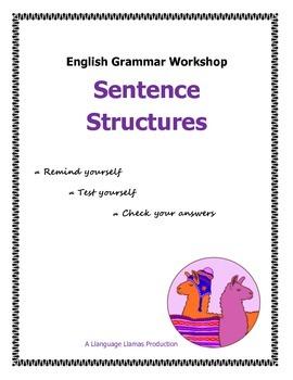 Sentence Structures - simple, compound, complex - English