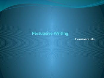 English I and II Persuasive Writing Cooperative Learning Project