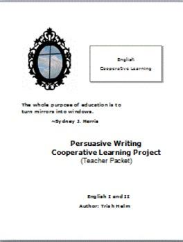 English I and II Persuasive Writing Cooperative Learning P