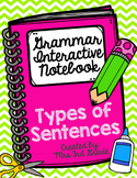 English Interactive Notebook - Sentences