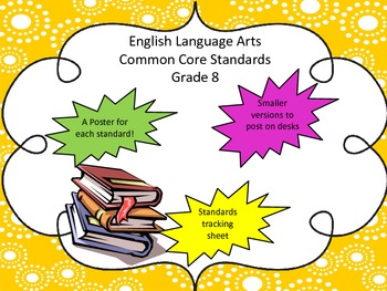 English Language Arts Common Core Grade 8 with Tracking