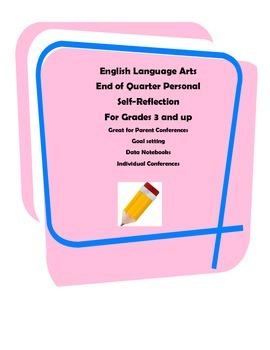 English Language Arts Self-Reflection
