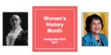 Women's History Month: English Language Development (ELD)