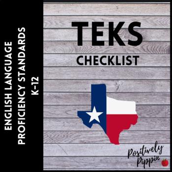 English Language Proficiency Standards (ELPS) Checklist for Texas