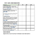 English Outcomes Term checklist - Year 4