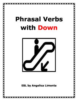 English Phrasal Verbs with Down