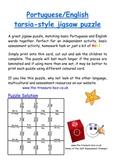 English Portuguese Jigsaw Puzzle