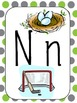 English Primary Alphabet Wall Cards