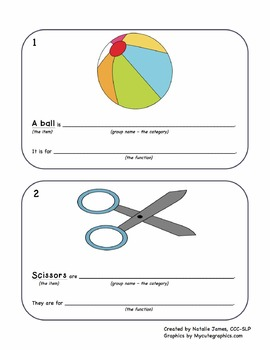 English Sentence Frame Flashcards - Defining by Category a