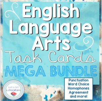 English Language Arts Task Cards