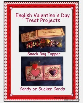 English Valentine Treat Projects