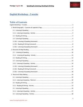 English Workshop (5 weeks)