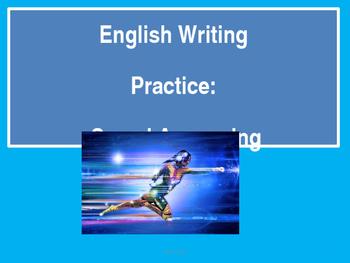 English Writing Practice- Speed Answering