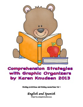 English and Spanish comprehension strategies predictions a