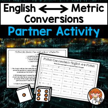 English/Metric Conversions Partner Activity