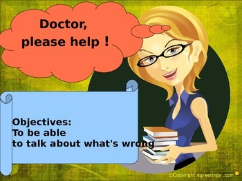 English at the doctor's for beginners EAL ESL