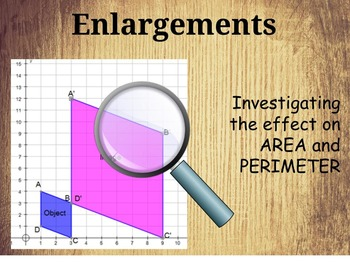 Enlargements - Area and perimeter