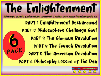 Enlightenment! (ALL 6 PARTS) Highly visual, textual, engag