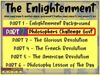 Enlightenment! (PART 2: PHILOSOPHERS CHALLENGE GOVT.) visu