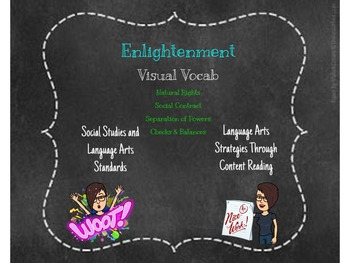 Enlightenment Visual Vocab for FREE