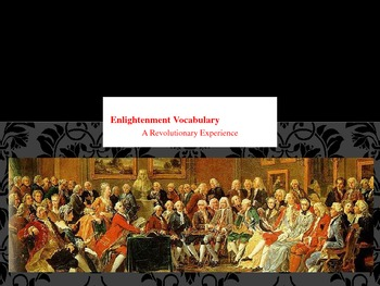 Enlightenment Vocabulary PowerPoint