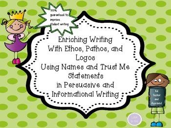 Enriching Persuasive, Opinion, and Informational Writing