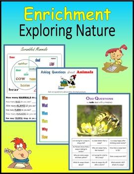 Enrichment:  Exploring Nature