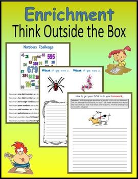 Enrichment:  Think Outside the Box