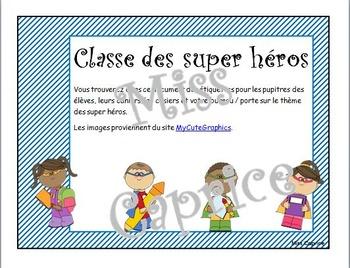 Ensemble super héros