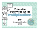 Ensemble sur les multiplications (à imprimer-printable)