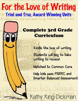 Entire Year Curriculum Third Grade