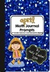 Whole Year Math Journal Prompts Bundle Second Grade