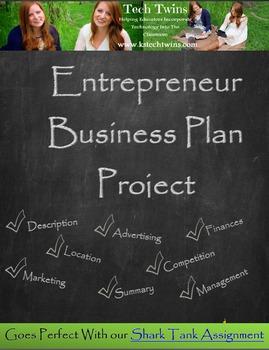 Entrepreneur Business Plan Project