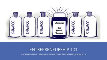Entrepreneurship 101:  Factors Used By Marketers To Positi