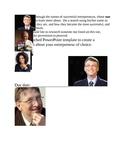 Entrepreneurship Biography Powerpoint Project Part 1