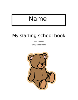 Entry Booklet - Reception -My starting school book