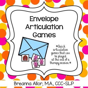 Envelope Articulation Games