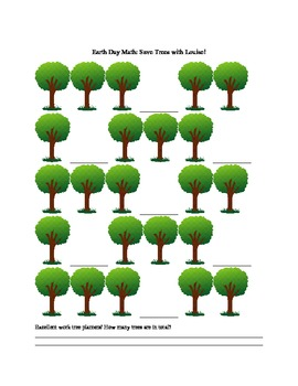 Earth Day Package: Word Search, Earth Quilt and Save Trees