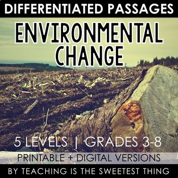 Environmental Change: Passages