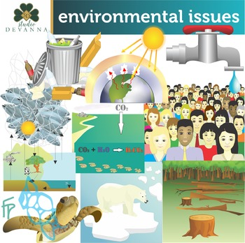 Environmental Issues Clip Art