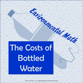 The Costs of Bottled Water - Environmental Math