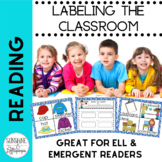 Labeling the Room for English Language Learners for Home & School