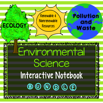 Environmental Science Interactive Notebook