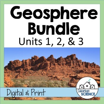 Environmental Science: Lithosphere- Lessons, Webquests, an