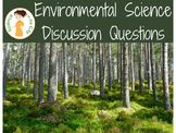 Environmental Science Prior Knowledge/Discussion Questions