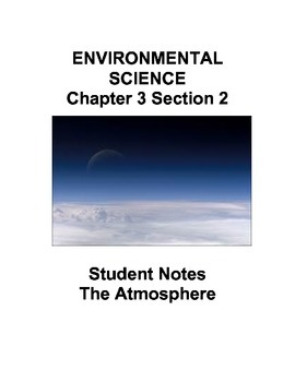 Environmental Science: The Atmosphere