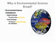 Environmental Science is Interdisciplinary: Power Point Pr